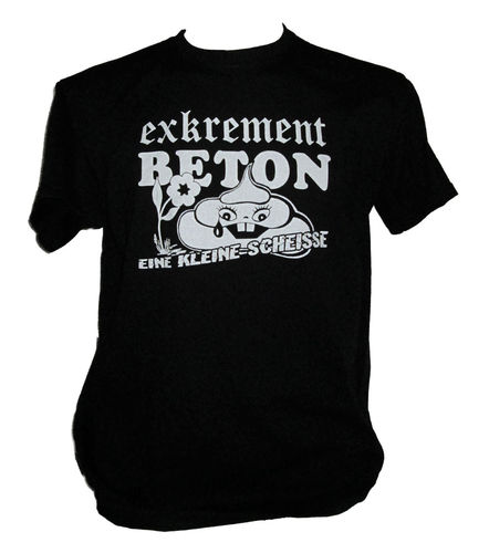 Exkrement Beton - Eine Kleine Scheisse [T-Shirt][Größe - L][Fruit of the Loom]