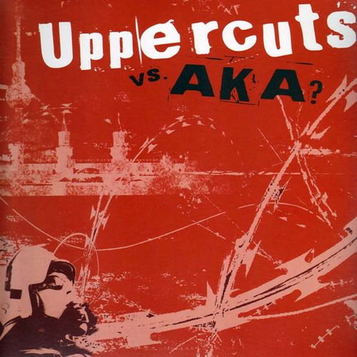 AKA vs. Uppercuts - Split [LP][schwarz]
