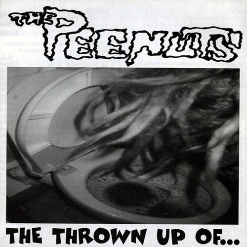 The Peenuts - The Thrown Up Of... [EP][schwarz]