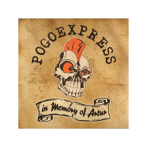 Pogoexpress - In Memory Of Artur [LP][schwarz][MBU]