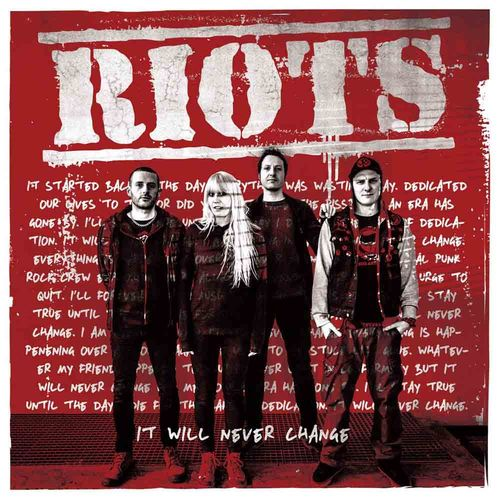 Riots - It Will Never Change [LP][schwarz]