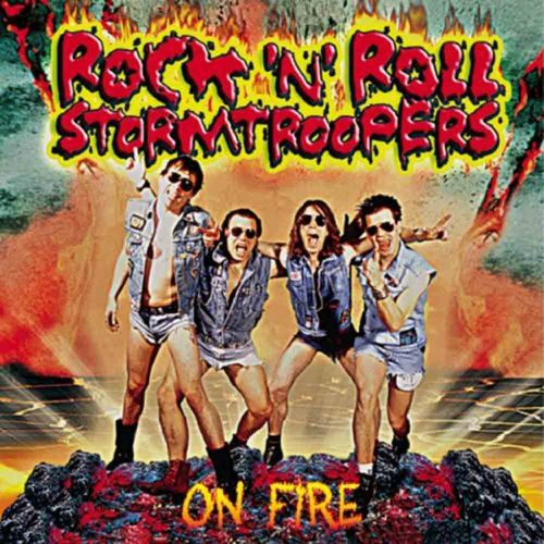 Rock'n'Roll Stormtroopers - On Fire [LP][schwarz]