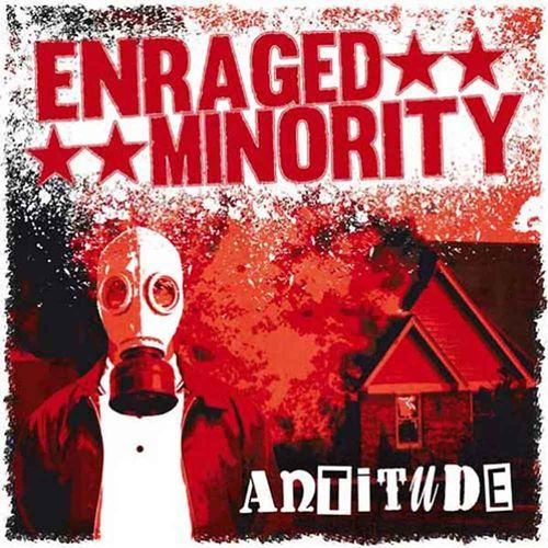 Enraged Minority - Antitude [LP][schwarz]